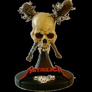 Metallica Statue Damage Inc.