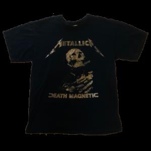 T-shirt – Death Magnetic Tour Shirt