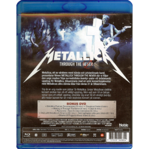 2013 – Through The Never (3D Blu-ray & DVD)