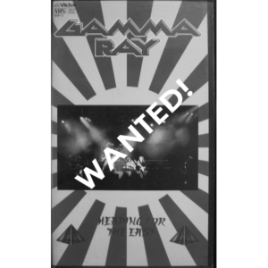 WANTED – 1991 – Heading For The East – VHS – Japan.