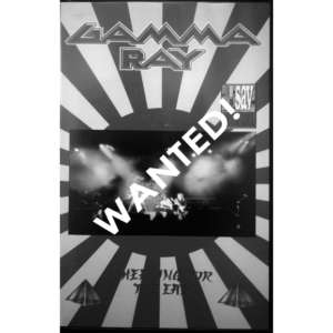 WANTED – 1991 – Heading For The East – VHS – Spain.