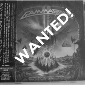 WANTED – 2007 – Land Of The Free II – Cd – Japan.