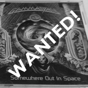 WANTED – 1997 – Somewhere Out In Space – Usa – Cd.