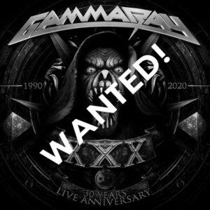 WANTED – 2021 -XXX-30 Years Live Anniversary-1990-2020-3Lp+Blu-Ray.