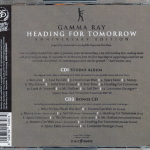 2015 – Heading For Tomorrow (Anniversary Edition) 2Cd – Russia.