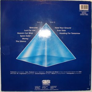 1989 – Heading For Tomorrow – LP – Testpress.