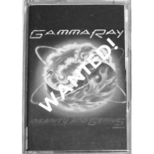WANTED: 1993 – Insanity And Genius – Tape – Poland.