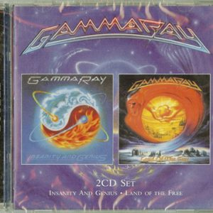 2010 – Insanity And Genius/Land of the Free – 2Cd – Russia.