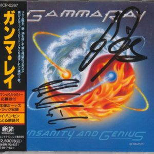 1993 – Insanity And Genius – Promo Cd – Japan.