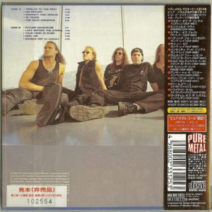1996 – Insanity And Genius – Japan Cd – Promo.
