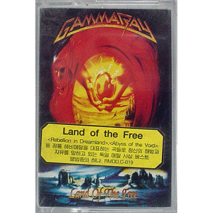 WANTED: 1995 – Land Of The Free – Tape – Korea.