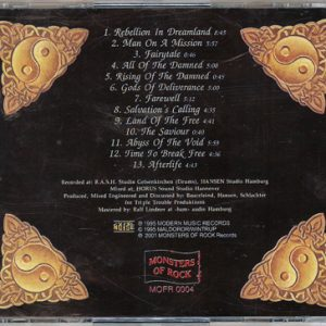2001 – Land Of The Free – Cd – Russia – Monsters of Rock – Bootleg.