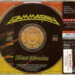1996 – Silent Miracles – Cds – Japan – Promo.