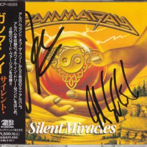 1996 – Silent Miracles – Cds – Japan.