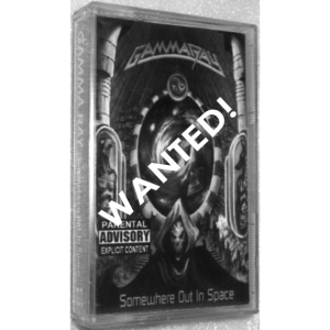 WANTED: 1997 – Somewhere Out In Space – Tape – Indonesia.