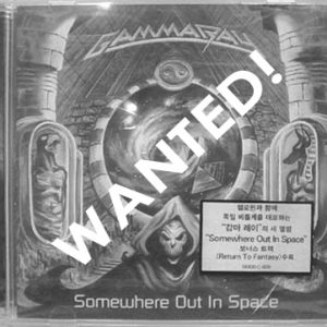 WANTED: 200? – Somewhere Out In Space – Cd – Korea.