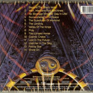 1997 – Somewhere Out In Space – Korea – Cd.