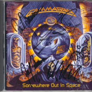 1997 – Somewhere Out In Space – Cd.