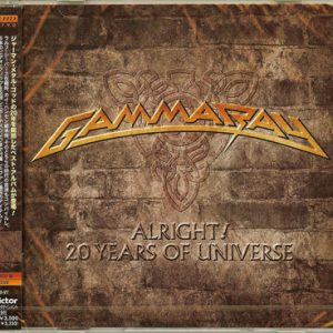2010 – Alright! 20 Years Of Universe – Cd & DVD – Japan Promo.