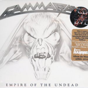 2014 – Empire Of The Undead – Cd/DVD – Mexico.