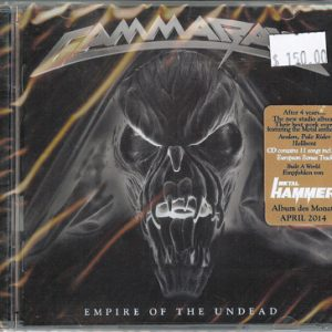 2014 – Empire Of The Undead – Cd – Mexico.