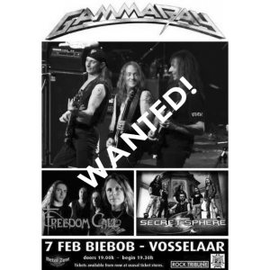 WANTED: 2010 – To The Metal Tour – 7/2-10 – Belgium – Flyer.