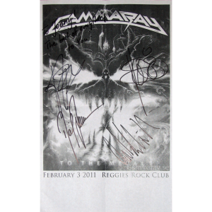2011 – To The Metal – Flyer – North America Tour.
