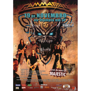 2006 – Majestic Brazil Tour -06 – Flyers.