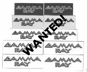 WANTED: 1990 – Heading For Tomorrow Stickers.