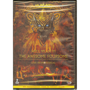 2008 – Hell Yeah!!! The Awesome Foursome – 2DVD – Ukraine.