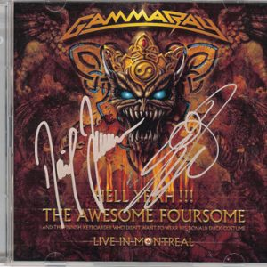 2008 – Hell Yeah!!! The Awesome Foursome – 2Cd – Promo.