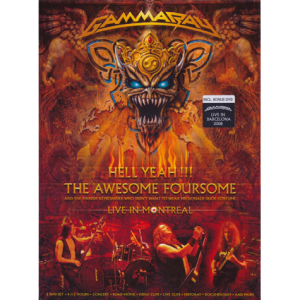 2008 – Hell Yeah!!! The Awesome Foursome – 2DVD incl. Bonus DVD.