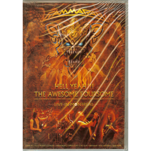 2008 – Hell Yeah!!! The Awesome Foursome – 2DVD – Argentina.