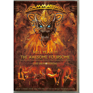 2008 – Hell Yeah!!! The Awesome Foursome – 2DVD – Promo.