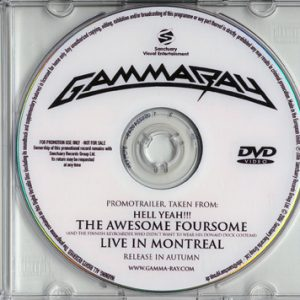2006 – Hell Yeah!!! The Awesome Foursome – DVD – Promo.