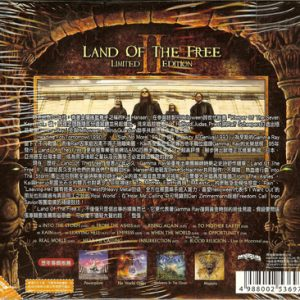 2007 – Land Of The Free II – Limited First Edition Cd – Taiwan.