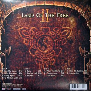 2007 – Land Of The Free II – 2Lp.