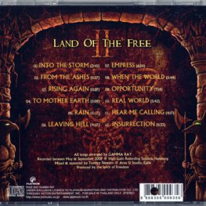 2007 – Land Of The Free II – Thailand – Promo Cd.