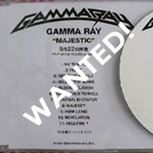 WANTED: 2005 – Majestic – Japan – Promo – Cdr.