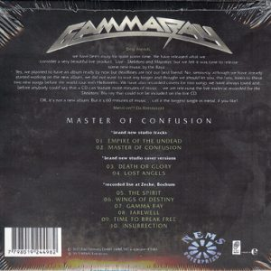 2013 – Master Of Confusion – EP – Argentina – Cd.