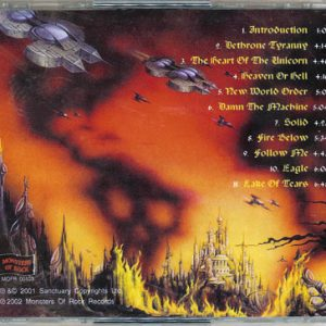 2002 – No World Order – Cd – Russia – Monsters of Rock – Bootleg.