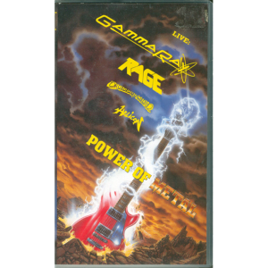1994 – Power Of Metal – VHS.