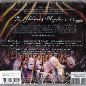 2012 – Skeletons and Majesties Live – 2Cd – Russia.