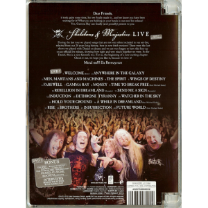 2012 – Skeletons and Majesties Live – 2DVD.