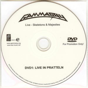 2012 – Skeletons and Majesties Live – 2DVD – Promo.