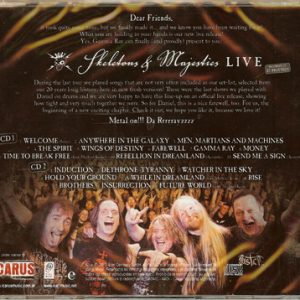 2012 – Skeletons and Majesties Live – 2Cd – Argentina.