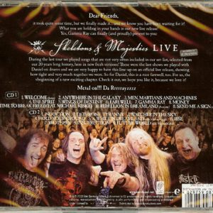 2012 – Skeletons and Majesties Live – 2Cd – Mexico.
