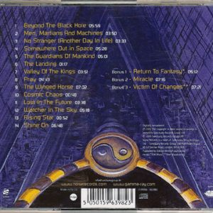 2005 – Somewhere Out In Space Cd (+3 Bonus Tracks).