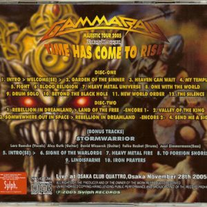 2005 – Time Has Come To Rise – 2Cd – Japan – Bootleg.