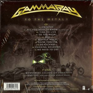 2010 – To The Metal – Cd – Collector's Edition.